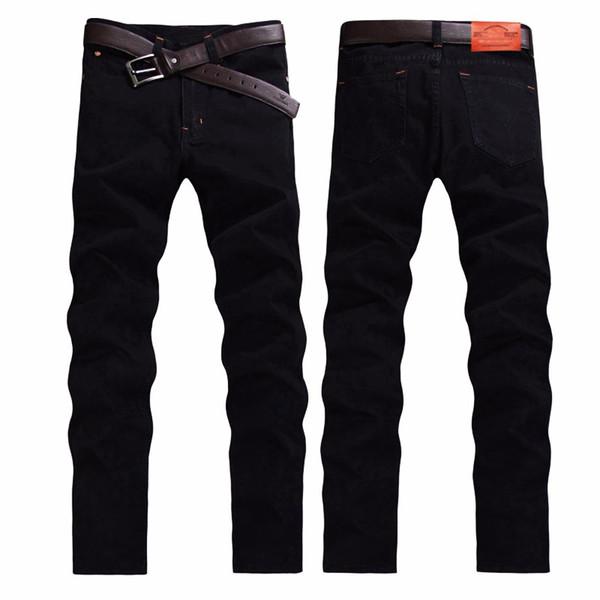 En gros-Mode Slim jeans de haute qualité hommes automne et hiver mode casual hommes pantalons biker jeans CHOLYL marque biker jeans