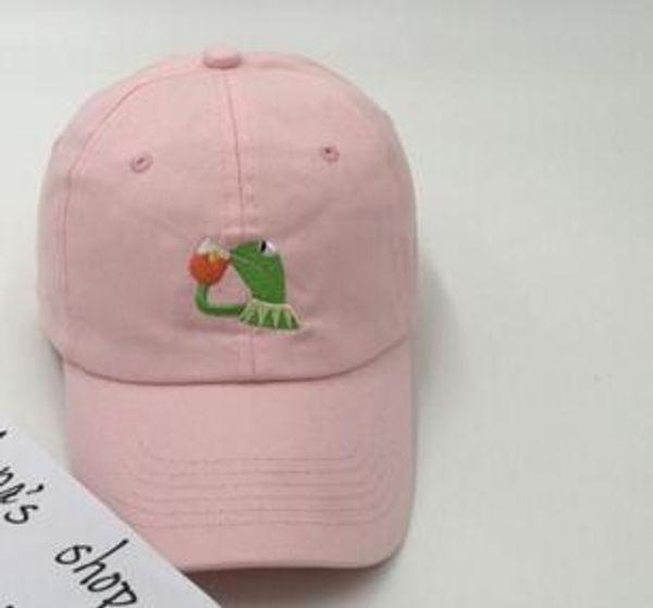 Kermit Tea Hat Kanye West Bear Dad Hat yeezus Baseball Cap women men Snapback i feel like pablo Casquette drake 6 god Cap