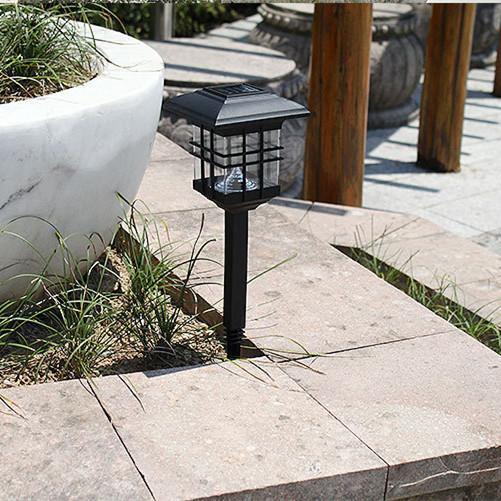 Acheter Mini LED Lampes Solaires De Jardin Lampes 46cm 3LEDs ABS Extérieur  Imperméable À La Maison Éclairage Décorations Paysage Dans La Cour Shenzhen  ...