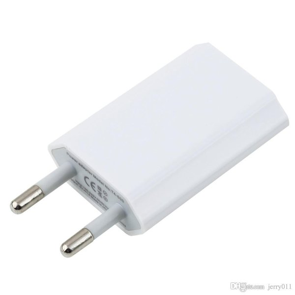 EU Plug USB Power Home Wall Charger Adapter for i for iPhone 3GS 4G 4S 5 Hot Selling