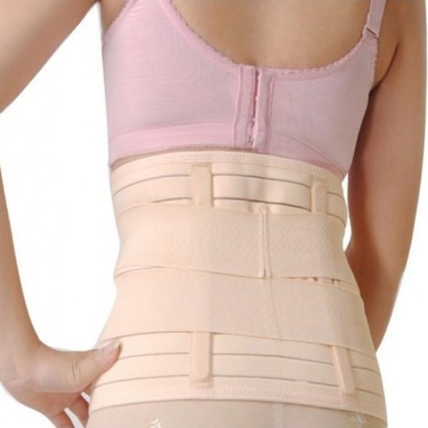 All'ingrosso-fascia post-parto perdita di peso body wrap Tummy Wrap corsetto cintura dopo il parto body shaper cintura ventre cintura faja dopo il parto