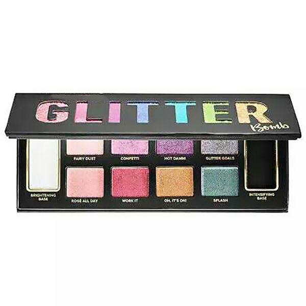 Marca MAKEUP Glitter Bomb 10 paleta de sombra de ojos PRISMATIC Eyeshadow Alta calidad envío rápido gratuito