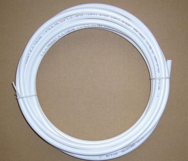 10 м CCK Белая трубка для бытовых фильтров для воды 1/4