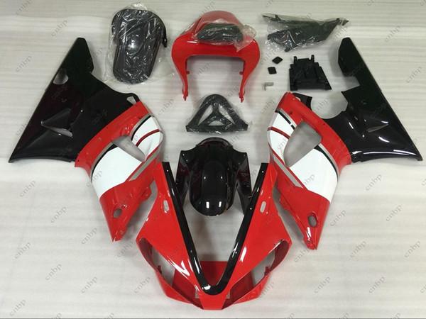 Body Kits YZFR1 01 ABS Fairing YZF R1 2001 Red Black Bodywork for YAMAHA YZFR1 2000 2000 - 2001