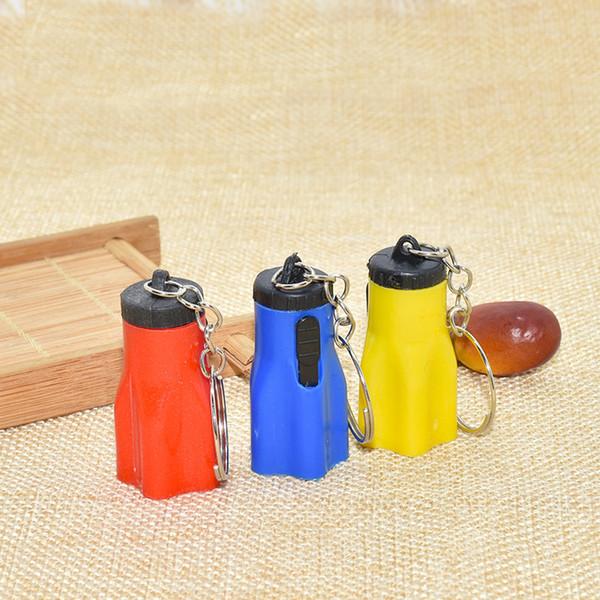 Plum Keychain flashlight / mini portable flashlight / plum light /LED flashlight