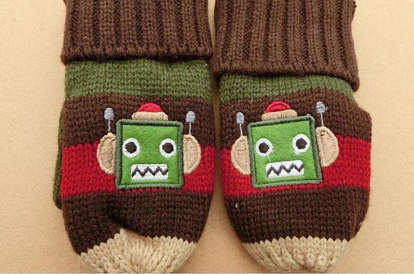 Childrens Glove Cartoon Gloves Cute Minions In Winter Keep Warm