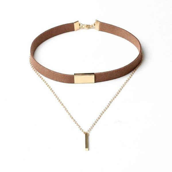 Nouveau style collier multi-couche gland collier WFN272 (avec chaîne) mélanger l'ordre 20 pièces beaucoup