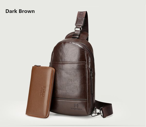 Deep Brown+wallet