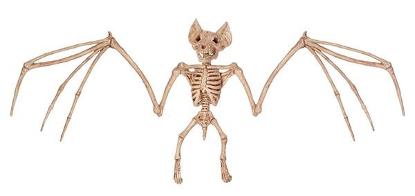 Fantasy Life Fun Bone Skeleton -Bat Bone Home Halloween Party Decoration