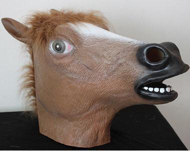 Cavalo castanho escuro