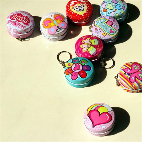 Vintage style tea tins funny gift toy mini mailbox Metal tin Mini box Pill Case rectangle iron box Container storage