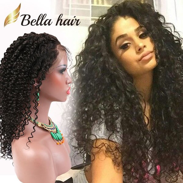 best selling Brazilian Lace Front Wigs Virgin Human Hair Lace Wigs for Black Women 360 Lace Wigs Curly Hair Weaves Bellahair Density 130% OR 150%