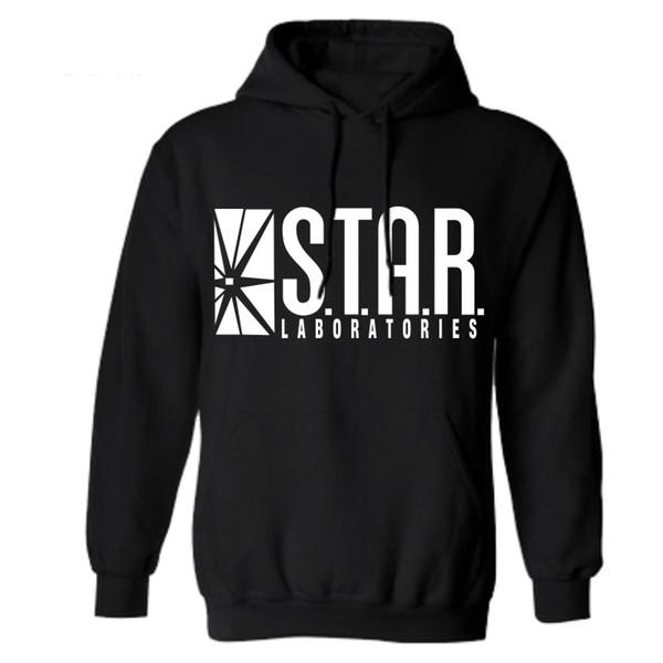 Acheter Vente En Gros Star Lab Impression Hommes Sweat À Capuche Noir Sweat À Capuche Mâle Imprimé Vêtements Sweats À Capuche Et Sweat Shirts D'hiver