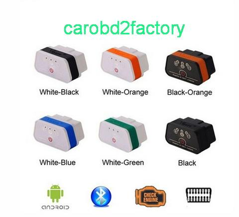 High quality---Vgate iCar2 Bluetooth OBD Scanner iCar 2 elm327 Bluetooth Diagnostic Interface for android with Free Shipping