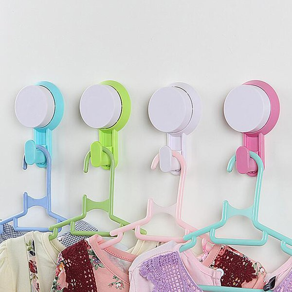 DIY Kitchen Bathroom Wall Hooks For Clothes Towel Wall Hook, Plastic Strong  Suction Cup Key