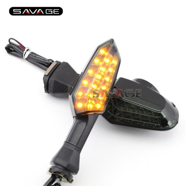For KAWASAKI KLE 650/1000 Versys 10-16/ ER-4N ER-6N Motorcycle Front/Rear LED Turn Signal Indicator Light Blinker Lamp