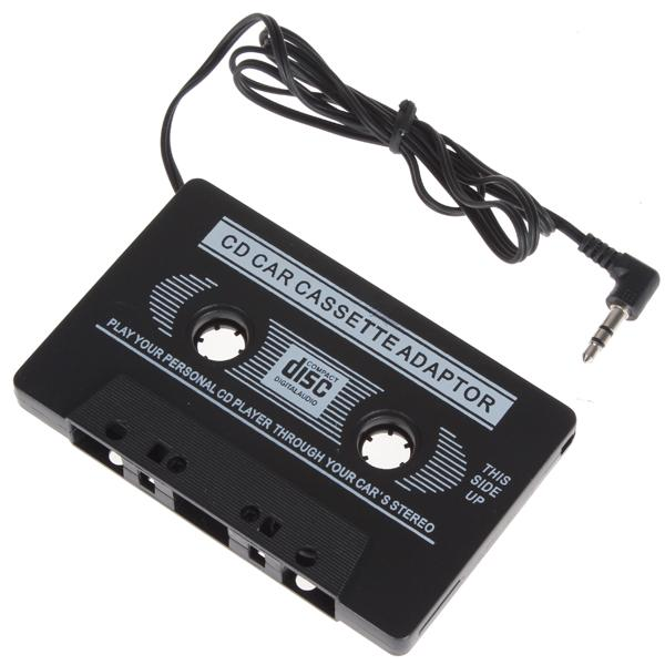 Retro Car Cassette Tape Adapter Travel Audio Music Converter 35mm
