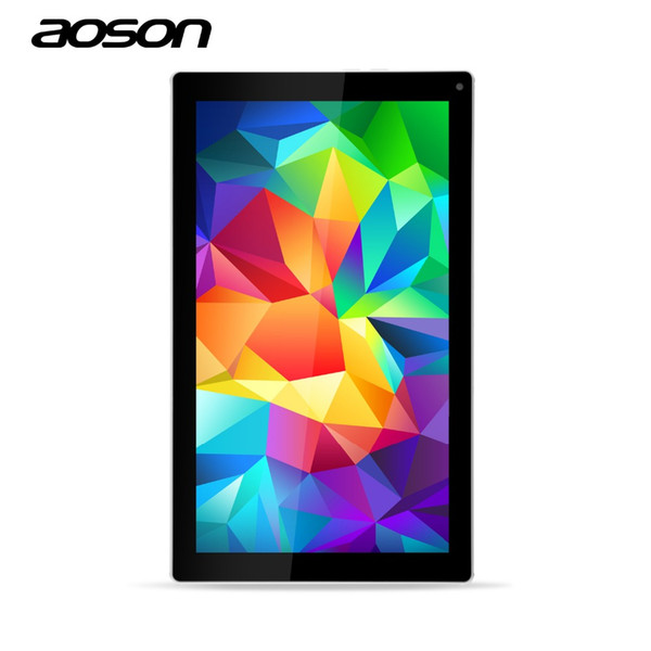 Wholesale- High Quality 10.1 inch Tablet Aoson M1016 Updating M1016c-W AllWinner A33 Quad Core Android 4.4 RAM 1GB ROM 8GB Dual Cameras 2MP