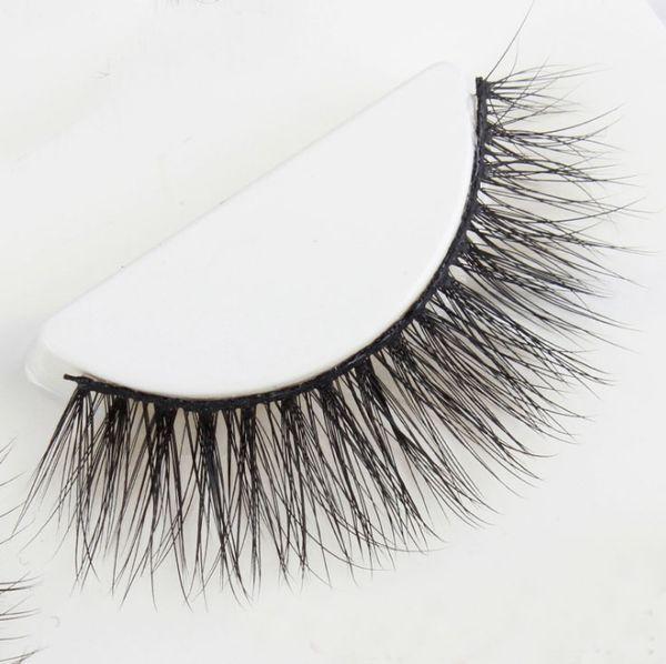 Luxurious SEXY Messy Lash Extension 3D Mink Eyelashes Natural False Eyelashes 1 pair Handmade Fake Eye Lashes Extension for Beauty Makeup