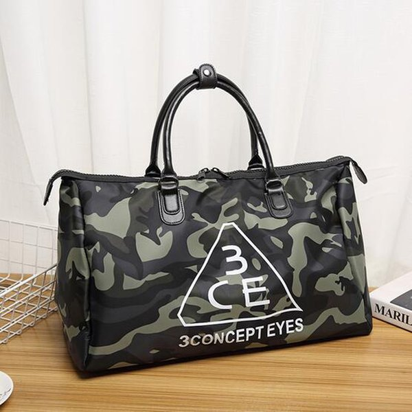 Wholesale Unisex Camouflage Travel Bag Large Capacity Waterproof Luggage Bag New Casual Handbag Short Trip Package