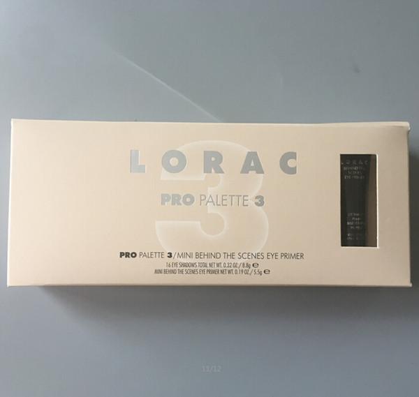 Marca LORAC Eyeshadow Palette Makeup + Primer Pro Palette 3 16-olor DHL free LORAC Cosmetics