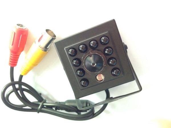 700TVL diminuta cámara ir 940nm, 1/3 '' cCD de sony, luz LED invisible de 10pcs IR, lente de agujero de alfiler de 3.7mm