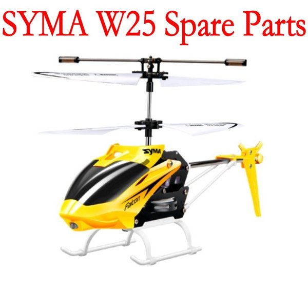 SYMA W25 Main Blades USB Cable Charger Mini rc R/C Radio Control Helicopter Heli Copter Boy Toys Spare Parts Access Accessories