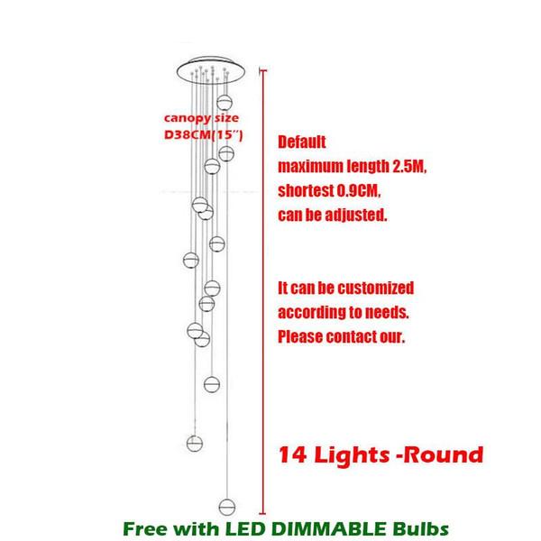 14 Heads Dia38cm Circle Base