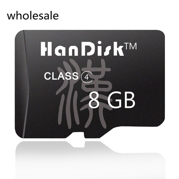 HanDisk Black 8G Micro SD Card Wholesale Quality 8GB Memory Card 8 G TF Card CE FCC certification