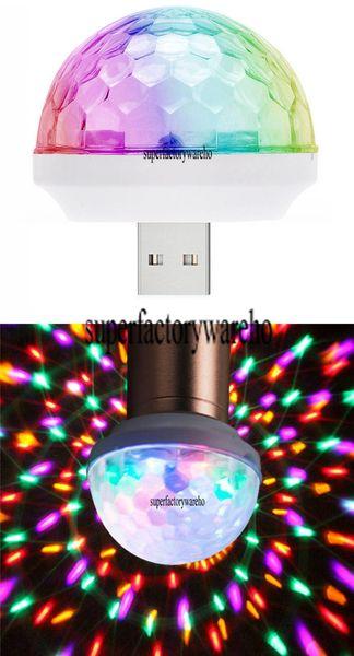 New universal USB colorful lights KTV DJ disco stage stage lights LED computer smart phone effect lights