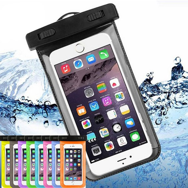super popular c41d6 c0b74 Dry Bag Plastic Waterproof Case Protective Universal Phone Bag Pouch With  Compass Hanging Diving Swimming For Smartphone Up To 5.8 Inch Custom Cell  ...