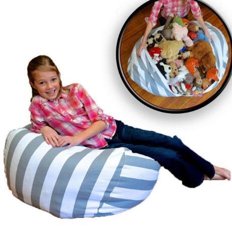Wondrous 2019 45Cm Storage Bean Bags Beanbag Chair Kids Bedroom Stuffed Animal Dolls Organizer Plush Toys Buggy Bags Clothes Home Organizer Kka3584 From Camellatalisay Diy Chair Ideas Camellatalisaycom