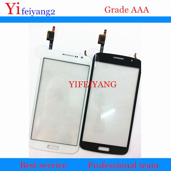 Un panel de la pantalla táctil de las piezas de recambio del 100% de la calidad para el Samsung Galaxy Grand 2 G7102 G7105 G7106 G7108 piezas de reparación exhibición del LCD rápido