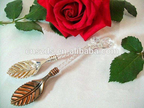 Free Shipping Fashion Royal Spoon Vintage Gold and Silver Coffee Spoon Ice Cream Spoon Hotsale-in Spoons from Home