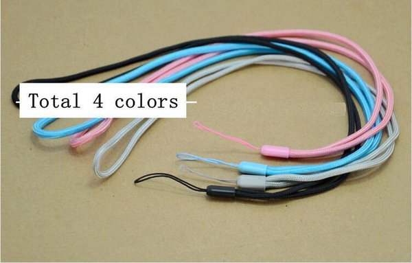 long Nylon Wrist Hand Strap Lanyard for Mobile Cell Phone Camera USB MP4 PSP Straps colorful color