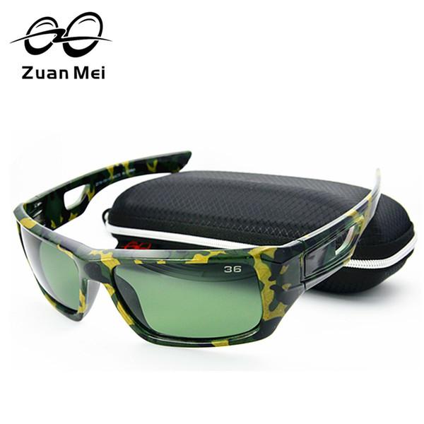 Venta al por mayor- 2016 Venta caliente gafas de sol polarizadas Hombres Zuan Mei Marca Tour de verano Gafas de sol para mujeres que conducen Gafas De Sol