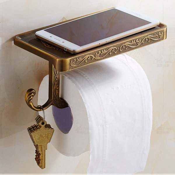 Home & Garden Bathroom Hardware Antique Bathroom Paper and Phone ...