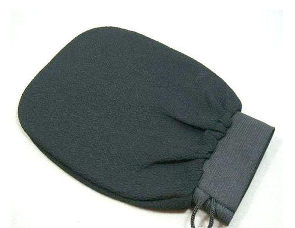 200pcs/lot hammam scrub mitt magic peeling glove exfoliating bath glove brown color morocco scrub glove