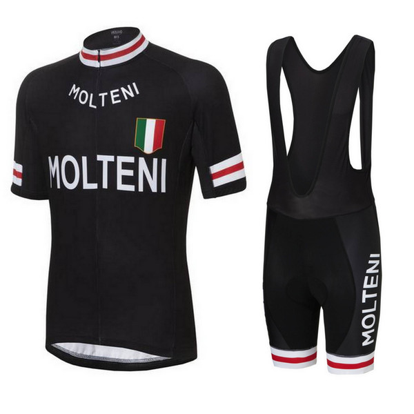 best selling molteni team 2019 cycling jersey set kit short sleeve cycling clothing mtb bike short jersey set summer style bike wear sportswear D1