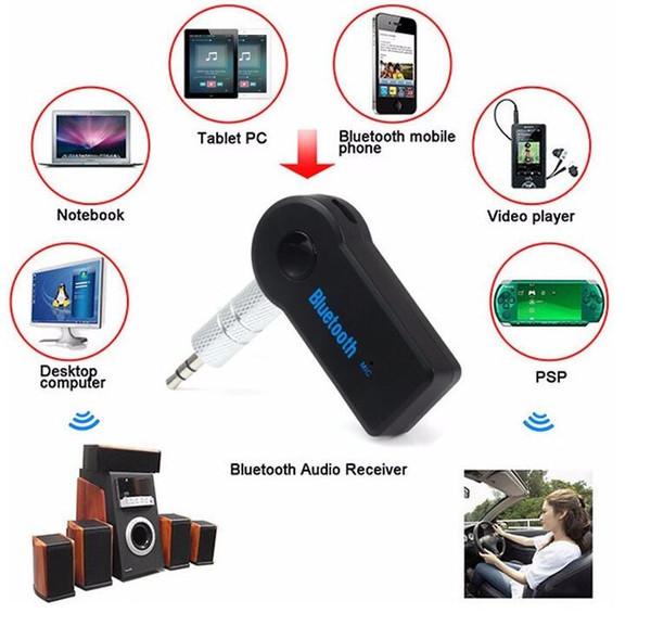 Kablosuz Bluetooth Alıcısı Hoparlör Kulaklık Adaptörü 3.5 MM Ses Stereo Müzik Alıcısı Ev Eller-Serbest Bluetooth Tak