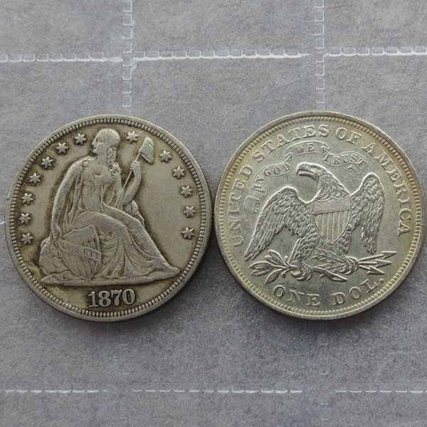 2019 Hot Selling 1870 Seated Liberty Silver Dollars One Dollar Cheap  Factory Price Nice Home Accessories Silver Coins From Rarecoins, $1 61 |