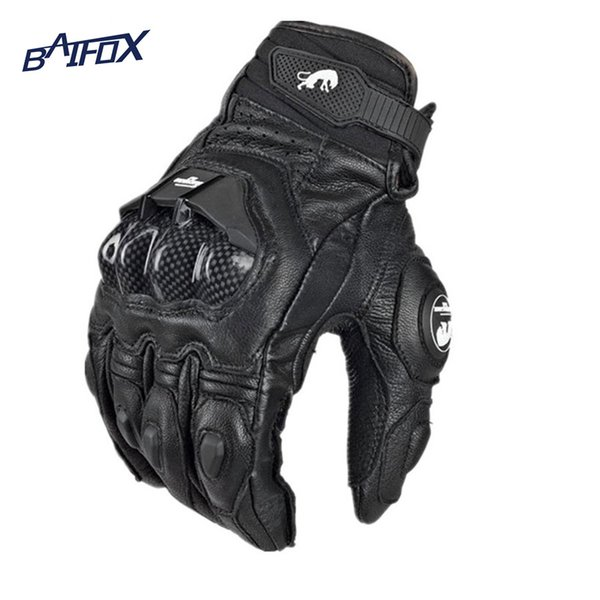 Wholesale- Hot selling Cool motorcycle gloves moto racing gloves knight leather ride bike driving bicycle cycling Motorbike