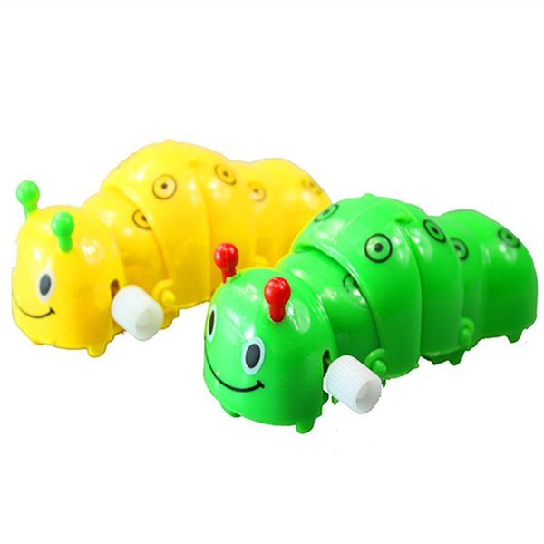 Nostalgic chain wind-up toy selling new spirit worm put stall in the night market yiwu commodity supply the caterpillar