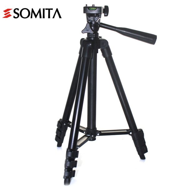 New Brand 2017 Professional DSLR Tripods Aluminum Portable Stability with Tripod Head Hot Sale Camera Tripod wt3118