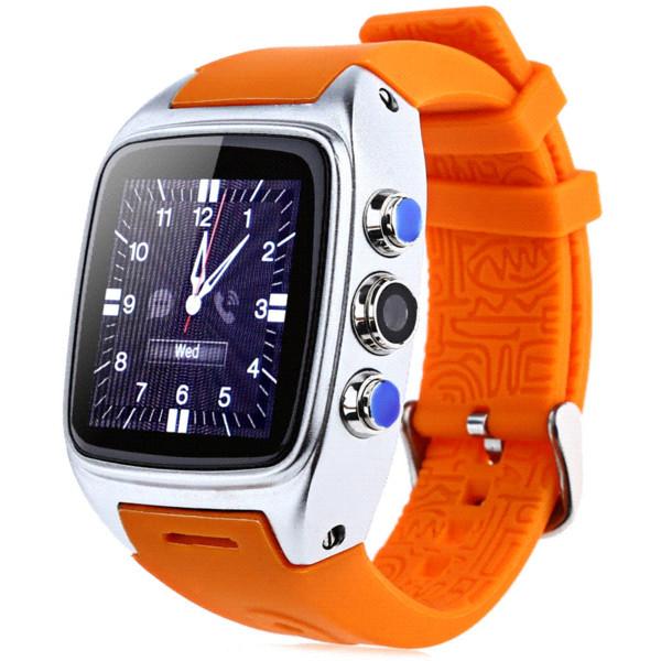 ORDRO SW16 Android 4.4 IP67 À Prova D 'Água Relógio Inteligente Wi-fi 3G SIM Cartão Smartwatch TF 600 mAh 3.0MP Câmera GPS relógio de Pulso 512 MB 4 GB