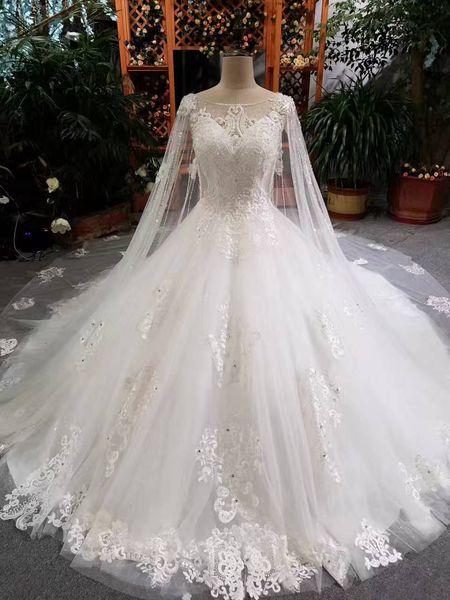 Großhandel Saudi Arabien Brautkleider New Ballkleid Gericht Zug ...