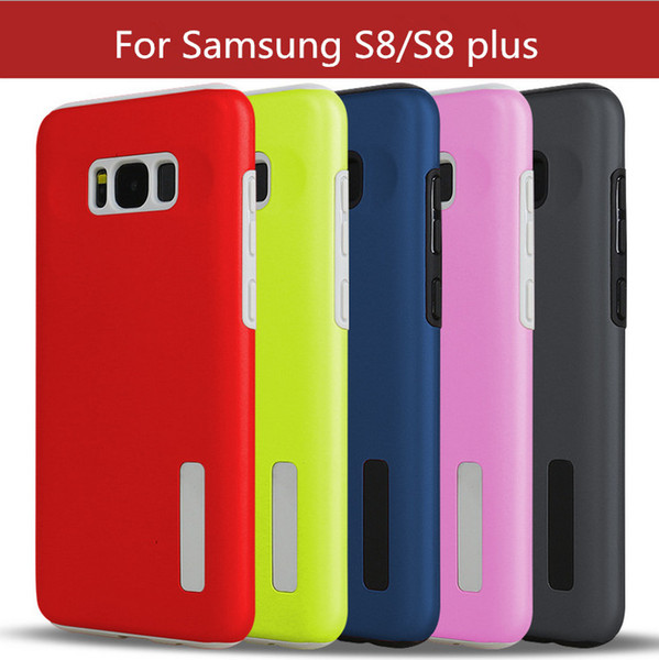 For Samsung galaxy S8plus Defender Rugged Robot boxes case Hybrid PC+TPU Cell phone Cases Cover for phoneX 8 7 plus 6S plus 5s S7 edge LG