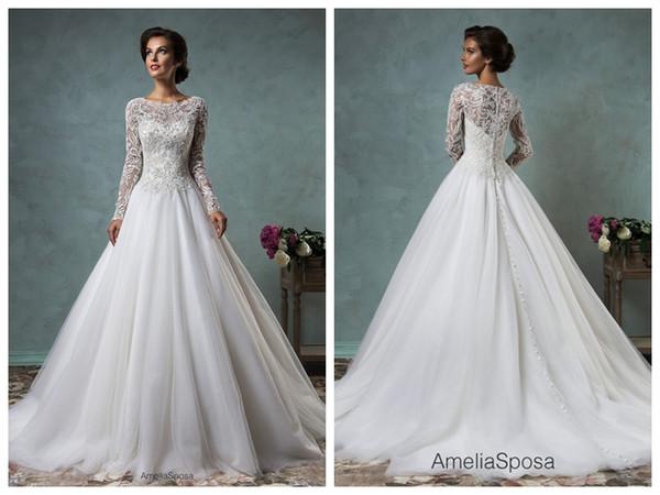 Vestidos De Noivas Para Gordas 2019 Vestido De Casamento Amelia Sposa Leticia Lace Vestido De Baile Vestidos De Casamento Vestido De Novia Bateau De