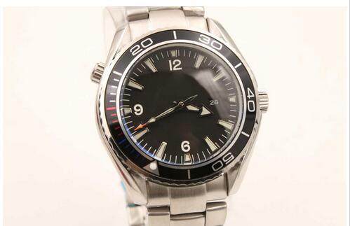 Venta caliente marca de moda nuevo reloj hombres stainess acero planeta océano james bond movimiento automático relojes hombres vestido relojes
