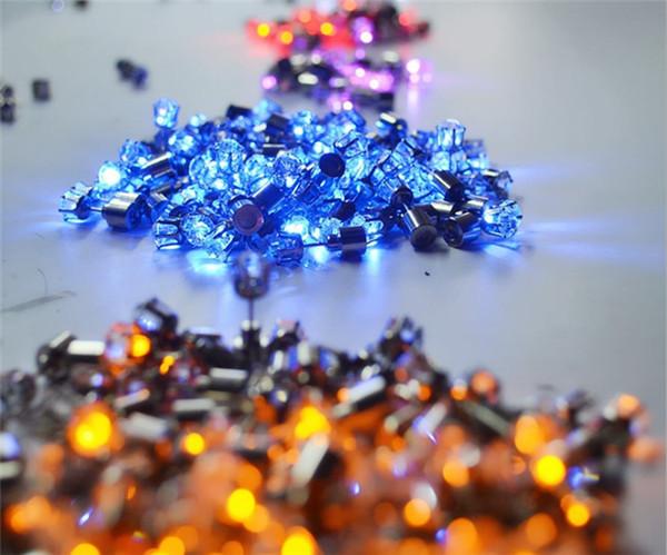 cb502352b LED Earrings Light Up Crown Shaped fashion Shiny Studs flashing earrings  many colors factory promotion sale
